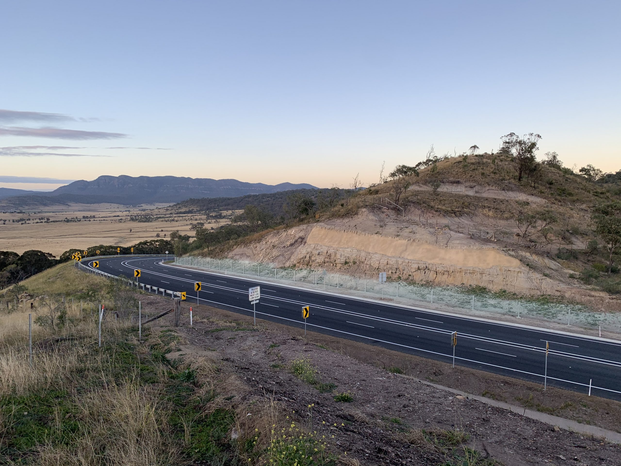Golden Highway Upgrade open to traffic